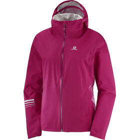 Salomon Lightning WP - Veste course à pied Femme - rose
